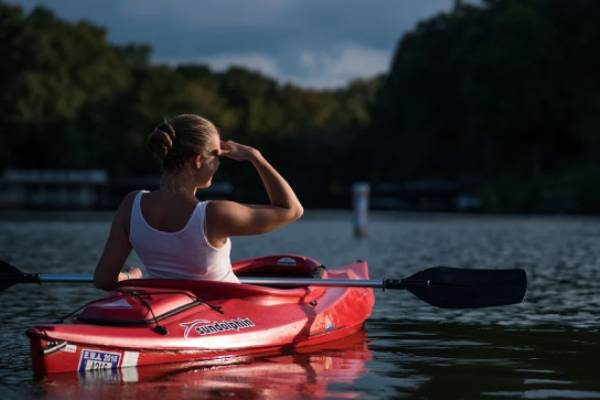 With plentiful rivers and water ways available for public use; why not take up kayaking or canoeing? Paddle boarding is a great alternative also, with the added bonus of an extra workout.